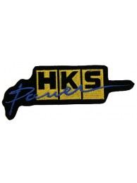 HKS POWER RACING SPORT EMBROIDERED PATCH #01