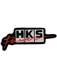 HKS POWER RACING SPORT EMBROIDERED PATCH #02