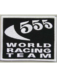 556 WORLD RACING SPORT EMBROIDERED PATCH #02