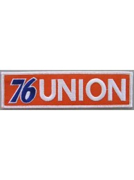 76 UNION RACING MOTORSPORT EMBROIDERED PATCH #01