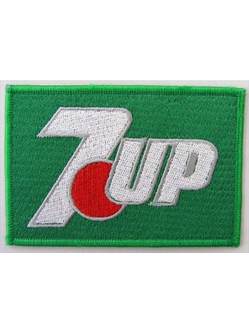 7UP Soda Iron On Embroidered Patch