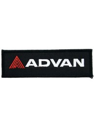 ADVAN RACING TEAM EMBROIDERED PATCH #02