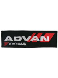 ADVAN YOKOHAMA RACING EMBROIDERED PATCH 03