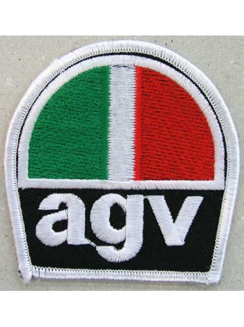 AGV Helmets Biker Embroidered Patch