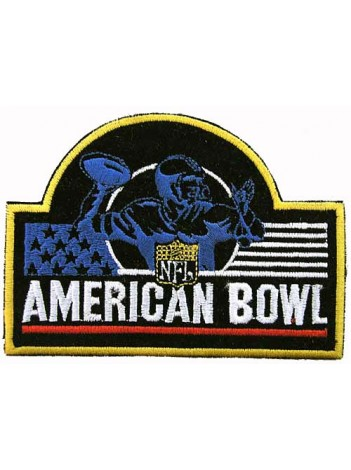American Super Bowl NFL Embroidered Patch #01