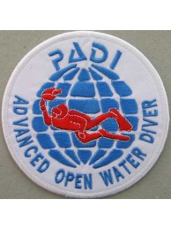 PADI SCUBA - ADVANCED OPEN WATER DIVER PATCH (A)