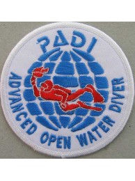 PADI SCUBA - ADVANCED OPEN WATER DIVER PATCH (C)