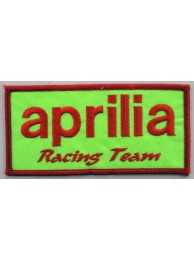 APRILA SUPERBIKE BIKER EMBROIDERED PATCH #04