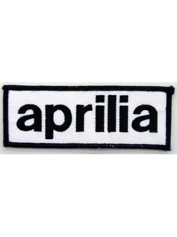 APRILIA SUPERBIKE BIKER EMBROIDERED PATCH #07