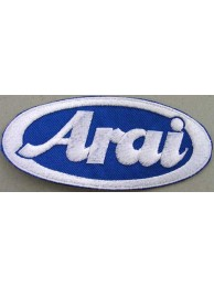 ARAI HELMETS BIKER EMBROIDERED PATCH #01