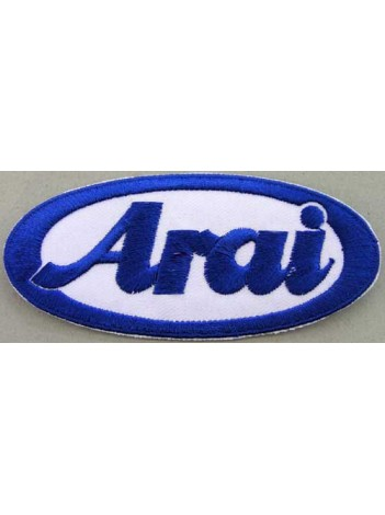 ARAI HELMETS BIKER EMBROIDERED PATCH #02
