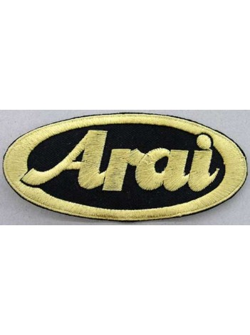 ARAI HELMETS BIKER EMBROIDERED PATCH #03