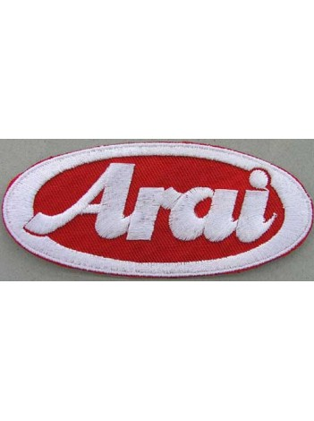 ARAI HELMETS BIKER EMBROIDERED PATCH #04