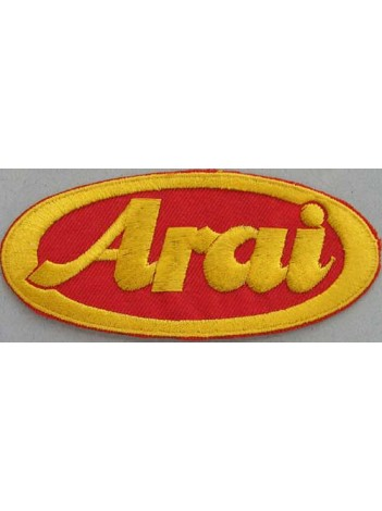 ARAI HELMETS BIKER EMBROIDERED PATCH #05