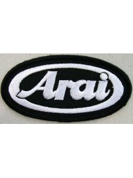 ARAI HELMETS BIKER EMBROIDERED PATCH #08