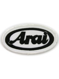 ARAI HELMETS BIKER EMBROIDERED PATCH #11