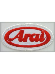 ARAI HELMETS BIKER EMBROIDERED PATCH #12