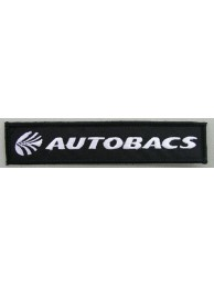 AUTOBACS RACING IRON ON EMBROIDERED PATCH #01