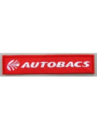 AUTOBACS RACING IRON ON EMBROIDERED PATCH #02