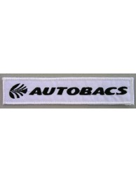 AUTOBACS RACING IRON ON EMBROIDERED PATCH #03