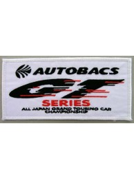 AUTOBACS RACING IRON ON EMBROIDERED PATCH #04