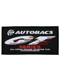 AUTOBACS RACING IRON ON EMBROIDERED PATCH #05