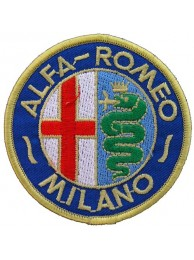 ALFA ROMEO AUTOMOBIL EMBROIDERED PATCH #02