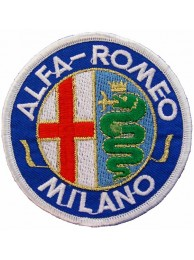 ALFA ROMEO AUTOMOBIL EMBROIDERED PATCH #03