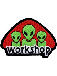 ALIEN WORKSHOP SKATE BOARD PATCH #01