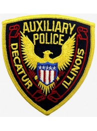 AUXILIARY POLICE PATCH