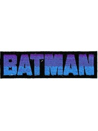 BATMAN COMIC IRON ON EMBROIDERED PATCH #10