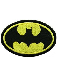 BATMAN COMIC IRON ON EMBROIDERED PATCH #12