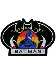 BATMAN COMIC IRON ON EMBROIDERED PATCH #05
