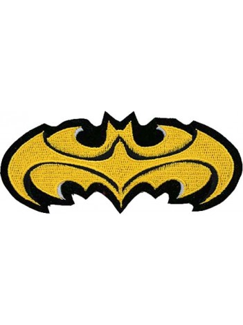 BATMAN COMIC IRON ON EMBROIDERED PATCH #07