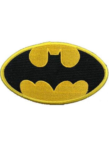 BATMAN COMIC IRON ON EMBROIDERED PATCH #08