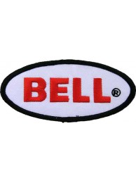 BELL HELMETS BIKER EMBROIDERED PATCH #01