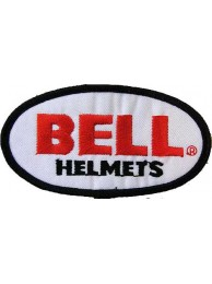 BELL HELMETS BIKER EMBROIDERED PATCH #02