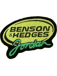 BENSON & HEDGES JORDAN RACING SPORT EMBROIDERED PATCH #04