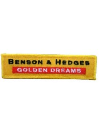 BENSON & HEDGES EMBROIDERED PATCH