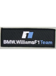 BMW WILLIAMS F1 RACING EMBROIDERED PATCH #01