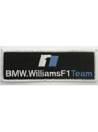 BMW WILLIAMS F1 RACING EMBROIDERED PATCH #02