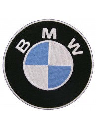 GIANT BMW AUTOMOBILE RACING EMBROIDERED PATCH (P1)