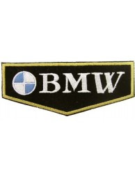 BMW F1 BIKER RACING EMBROIDERED PATCH #03