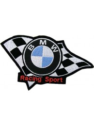 BMW F1 BIKER RACING EMBROIDERED PATCH #05