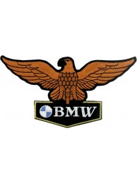BMW (Eagle) BIKER RACING EMBROIDERED PATCH #10