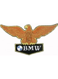 BMW (Eagle) BIKER RACING EMBROIDERED PATCH #10b