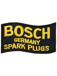 BOSCH SPARK PLUGS RACING SPORT EMBROIDERED PATCH