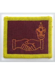 BSM SENIOR SCOUT ROVER SCOUT EMBROIDERED PATCH