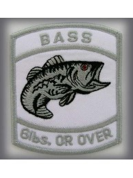 BASS - 6lbs. Or Over Silver