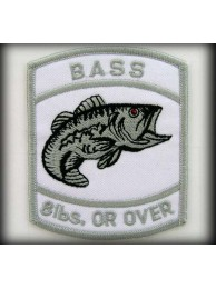 BASS - 8lbs. Or Over Silver